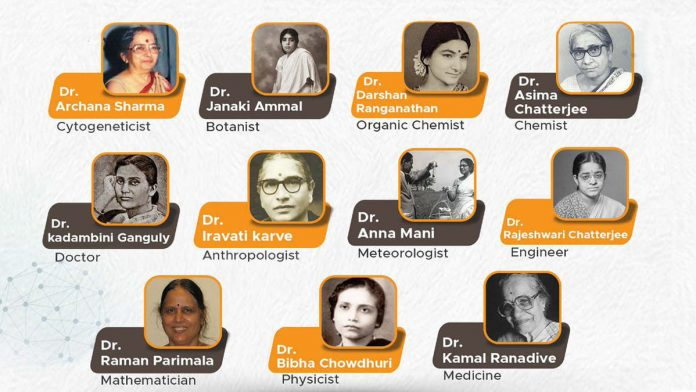 Women Scientists of India